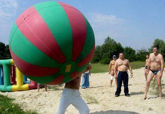 Мегабаскетбол на пляже, фото 1