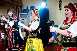 Выступление украинского ансамбля на свадьбе, фото 3