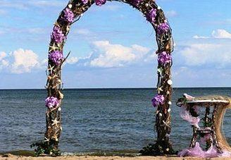 Выездная церемония на берегу