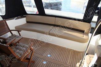 Ахтерпик моторной яхты Принцесс-45