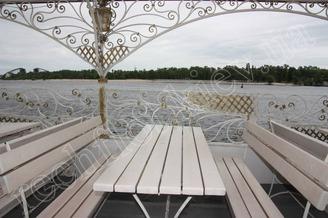 Летняя терраса теплохода Киевская Ласточка, фото 3