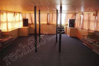 Носовой салон первой палубы теплохода Резон, фото 1