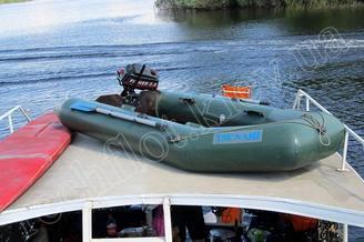 Моторная лодка теплохода Командор