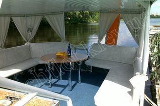 Салон летней террасы теплохода Командор, фото 1