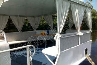 Салон летней террасы теплохода Командор, фото 2