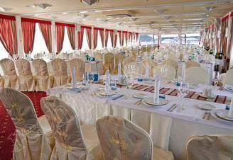 Салон средней палубы теплохода Lux лайнер, фото 7