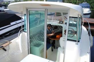 Кокпит, кают-компания катера Жено-625