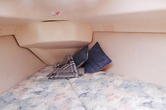 Спальное место на парусной яхте HUNTER-320