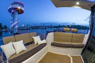 Места для отдыха на яхте Дельфия