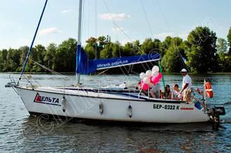 День Рождения на борту яхты Дельта