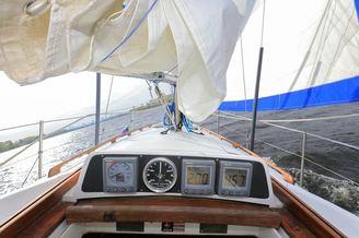 Приборная доска парусной яхты Благодать