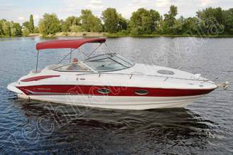 Внешний вид катера Кроунлайн-255