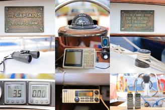 Аксессуары парусной яхты Благодать