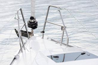 Закрутка стакселя парусной яхты Хантер-323