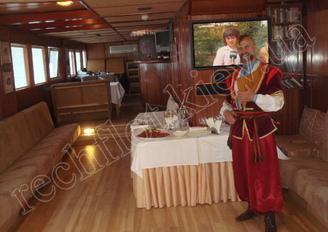 Салон первой палубы теплохода Серебряный Бриз, фото 4