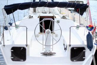 Штурвал парусной яхты Глория