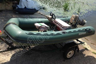 Внешний вид надувной лодки Адамант, фото 6