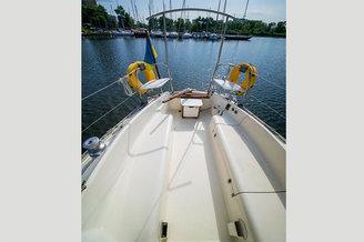 Кокпит парусной яхты Октант