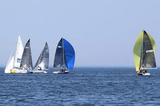 Яхтенная парусная регата V.I.P. на Киевском море