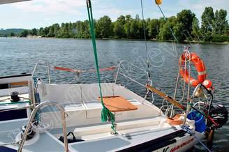Стол для фуршета на яхте Дельта