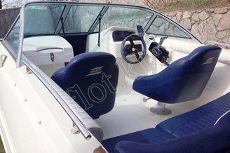 Капитанское кресло катера Галеон