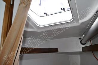 Иллюминатор носовой каюты яхты Александра