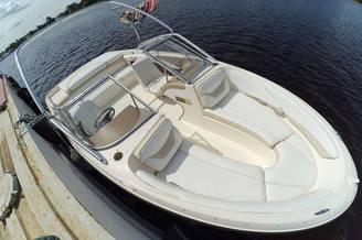 Внешний вид катера Бейлайнер-205