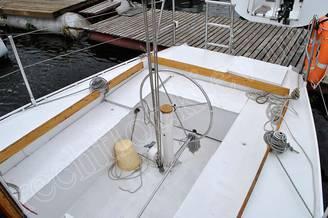 Кокпит яхты Алина