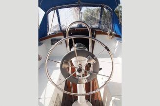 Штурвал парусной яхты Каталина
