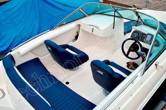 Кокпит катера Галеон