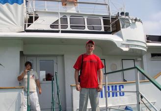 Спортинструктор на пристани