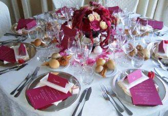 Тематическая свадьба в вишневом цвете