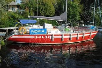 Внешний вид парусной яхты Риф