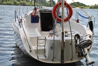 Корма парусной яхты JANMOR