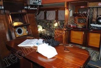Оборудование кают-компании парусной яхты Риф