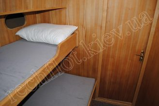Спальные места в каюте парусной яхты Австралия