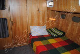 Кровать в каюте парусной яхты Австралия