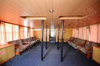 Носовой салон первой палубы теплохода Резон, фото 3
