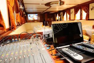Звуковое оборудование моторной яхты Соломия
