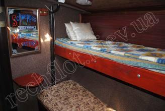 Кровати в каюте парусной яхты Норд