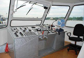 Капитанская рупка теплохода Риверест-4