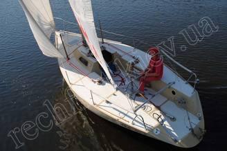 Внешний вид парусной яхты Борей
