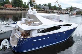 Внешний вид моторной яхты Натали