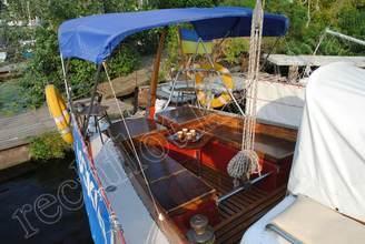 Кокпит парусной яхты Риф