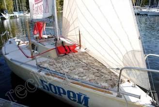 Носовая часть парусной яхты Борей