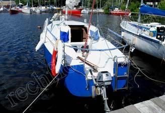 Корма парусной яхты Арвен