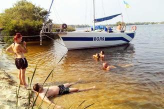 Парусная яхта Воля