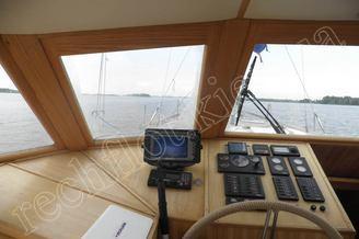 Капитанская рубка парусной яхты Австралия