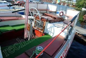 Кокпит парусной яхты Норд