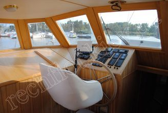 Место капитана на парусной яхте Австралия